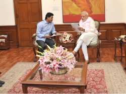 Pictures Ys Jagan With Narendra Modi In Delhi