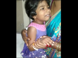 Two Fingers Cut From Girl Student Ravindra Bharathi School A