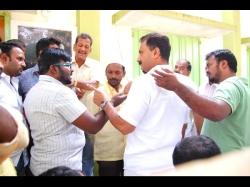 Tdp Leaders Fights At Mahanadu