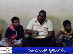 Gabbar Singh Team Helps Orphans Secunderabad