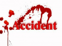 Car Accident At Gannavaram Three Died Spot