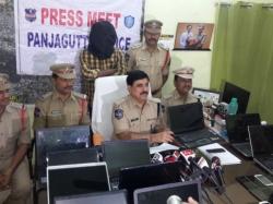 Laptop Thief Arrested Hyderabad