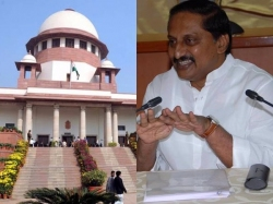 Sc Allows Kiran Kumar Reddy Raghurama Petition On Ap Reorgan