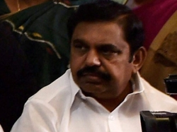 Tn Cm Palanisamy Sitting On Rented Chair