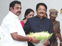 Tn Cm Edappadi Palanichami Meets Governor Vidyasagar Rao