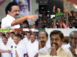 Dmk Vote Against Palaniswami Government