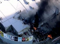 Five Feared Dead After Plane Crashes Into Into Shopping Centre Near Melbourne