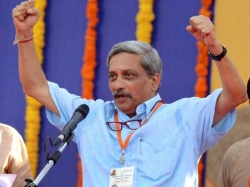 Manohar Parrikar Takes Oath As Goa Cm Floor Test On Thursda