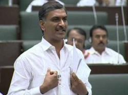 Harish Rao Mentioned Jagan S Name While Talking Telangana Assembly