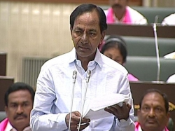 Kcr Takes Up Loans Repayments Telangana Assembly