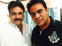 Netizens Differs With Ktr On Pawan Kalyan Pic