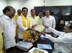 Nara Lokesh Takes Oath As Mlc Amaravati