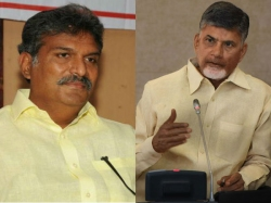 Huge Drama As Mp Tdp Leaders Block Andhra Pradesh Transport