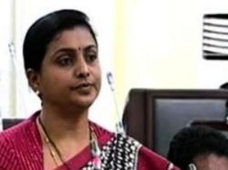 Roja Fires At Ap Government Chandrababu