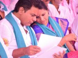 Telangana Leaders Pays Homage Ambedkar