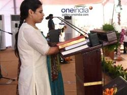Bhuma Akhilapriya Response On Nandyala Poll Ticket