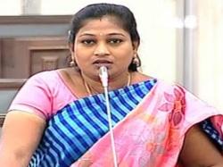Tdp Mla Anitha Complains Against Inturi Ravi Kiran