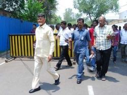 Andhrapradesh Chief Minister Chandrababu Naidu Surprise Visit