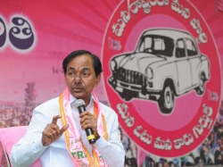 Kcr Elected As Trs Party Chie 8th Time