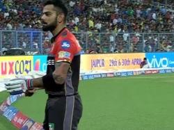 Ipl 2017 Virat Kohli Hurt Rcb S Reckless Batting Against Kkr