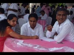 Ktr Lead Trs Harish Kavitha Ready Support
