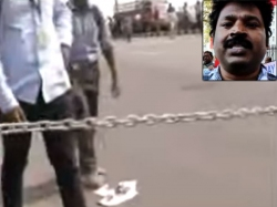 Traffic Jam Chennai As Youngsters Lock Road Support Tamil Na
