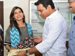 Samantha Is Not Brand Ambassador Telangana Handlooms