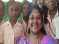 Meet Tn Teacher Who Sold Her Jewellery Provide Internation