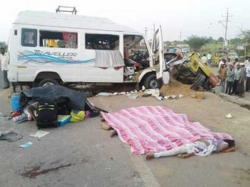Accident Kadapa Five Dead 8 Injured