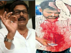Kannababu Group Attack On Anam Group Nellore