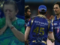 Ipl 2017 Twitterati S Been Crediting This Aunty Mumbai Indians Dramatic Win