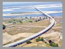 India S Longest Bridge Built Tanks Open Assam Today