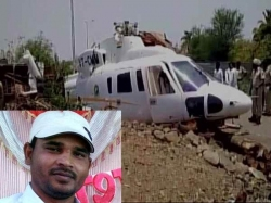 When Devendra Fadnavis Chopper Crashed Latur Only Irfan Shaikh Was There To Help Him