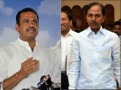 Komatireddy Challenges Kcr Over Survey