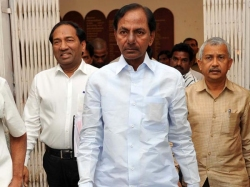 Political Mask Cleared Kcr