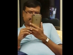 Shameful Woman Catches Man Filming Her On Moving Train