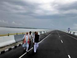 Modi Inaugurates India S Longest Dhola Sadiya Bridge