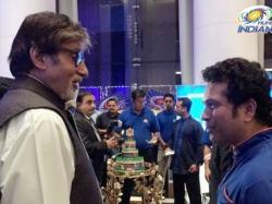 Ipl 2017 Amitabh Bachchan Adds Glitz Mumbai Indians Champion S Dinner