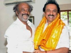 Dmk Leader Stalin Happy With Rajinikanth