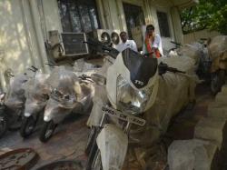 Bjp Men Conquer Telangana On Up Bikes