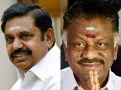 Ruling Aiadmk Faction Enacting Drama Tamil Nadu Former Cm P