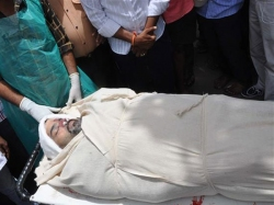 Telugu Actor Bharath Raju S Funeral Held Hyderabad