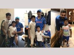 Azhar Ali Thanks Legends Ms Dhoni Yuvraj Singh Virat Kohli For Sparing Time For His Kids