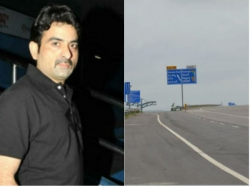 Bharat Raju Drives Car 140 Km Speed At The Accidental Time