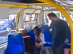 Year Old Woman Attacked On Bus Turkey Wearing Shorts During