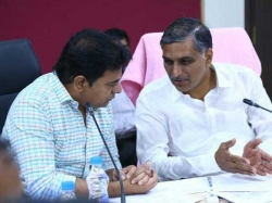 Ktr Wishes Harish Rao On His Birthday