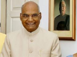 Ramnath Kovind Visit Ts Ap On July