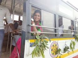 Mla Roja Travels Apsrtc Bus