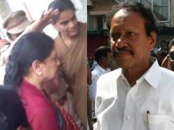 Thambidurai Meets Sasikala The Bengaluru Prison