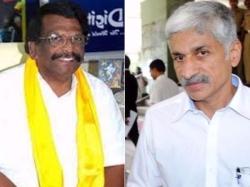 Tdp Leader Lashed At Vijaya Sai Reddy